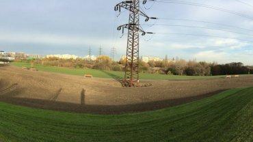 Zaměření skutečného stavu park Praha 11